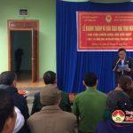 Hội CCB huyện Đô Lương: Bàn giao nhà tình nghĩa cho hội viên Bùi Đức Điệp ở xã Đặng Sơn.