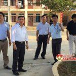 Đồng chí Ngọc Kim Nam –  Bí thư huyện ủy  kiểm tra tiến độ xây dựng nông thôn mới