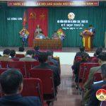 Kỳ họp thứ 9 HĐND xã Đông Sơn- khóa XIX