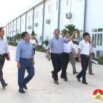 Lãnh đạo huyện Đô Lương: Làm việc với công ty may Minh Anh