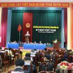 Khai mạc kì họp thứ 8 HĐND huyện Đô Lương khóa XIX nhiệm kì 2016 – 2021