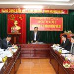 BTV Huyện ủy tổ chức kiểm điểm tập thể và cá nhân năm 2018