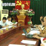 Báo Nghệ An làm việc với huyện ủy về công tác báo chí