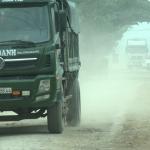 Người dân Xã Trù Sơn Đô Lương kêu cứu vì xe chở đá gây mất ATGT