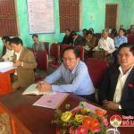 Kỳ họp thứ 8 HĐND xã Bài Sơn, khóa XIX