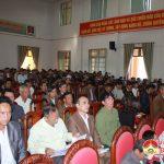 UBND huyện tổ chức hội nghị truyền thông công tác xóa đói, giảm nghèo  năm 2018.
