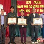 Thuận Sơn  tổng kết công tác xây dựng nông thôn mới năm 2018