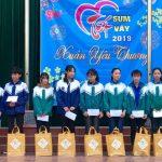 Đoàn trường THPT Đô Lương 1 tổ chức tết sum vầy, xuân yêu thương 2019.