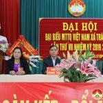 Xã Tràng Sơn tổ chức Đại hội MTTQVN xã nhiệm kỳ 2019 – 2024