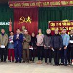 UBMTTQ Việt Nam huyện Đô Lương: Trao 120 suất quà cho Tết cho  người nghèo