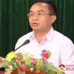 Đô Lương: Lấy phiếu tín nhiệm đối với các đồng chí Ủy viên BTV Huyện ủy