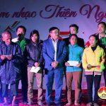 """Nhóm """"Đô Lương chia sẻ yêu thương"""" Tổ chức đêm nhạc thiên nguyện tại xã Thuận Sơn"""