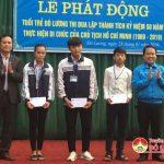 Huyện đoàn Đô Lương: Phát động hưởng ứng thi đua kỷ niệm 50 thực hiện di chúc Hồ Chí Minh