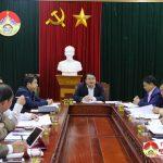 UBND huyện Đô Lương tổ chức hội nghị thường kì tháng 1 năm 2019