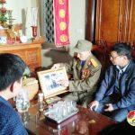 Cựu chiến binh 70 năm tuổi Đảng và 5 lần gặp Bác