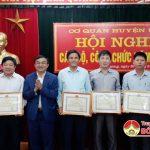 Cơ quan Huyện ủy tổ chức Hội nghị CBCC 2019