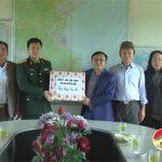 Đồng chí Ngọc Kim Nam – Bí thư Huyện ủy thăm và tặng quà chúc tết các đơn vị quân đội đóng trên địa bàn