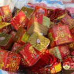 Chi cục thi hành án Đô Lương tổ chức tiêu hủy 160 kg pháo
