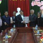Ban Đoàn kết công giáo huyện Đô Lương tổ chức chúc tết tại UBND huyện