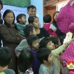 Giáo hội phật giáo tỉnh Nghệ An và nhóm thiện nguyện SOV trao 150 suất quà cho trẻ mồ côi, tật nguyền, đối tượng bị bệnh tâm thần, già cả neo đơn