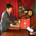 Ngân hàng Đầu tư & Phát triển BIDV tặng quà tết Mẹ Việt Nam Anh Hùng huyện Đô Lương và Anh Sơn