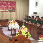 Đồng chí Lê Minh Giang thăm và chúc tết Sư đoàn 324