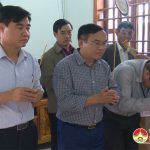 Đồng chí Ngọc Kim Nam: Thăm và chia buồn gia đình anh Đào Văn Hưng
