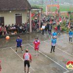 Hội người cao tuổi xã Lam Sơn tổ chức giải bóng hơi