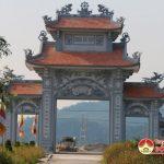 Xã Lam Sơn đầu tư 1,2 tỷ đồng xây dựng cổng chùa Bà Bụt