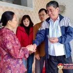 Thị Trấn Đô Lương hỗ trợ tiền làm nhà cho hộ nghèo