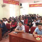 Trường trung cấp kinh tế – Kỹ thuật Tây nam Nghệ An Lễ ra quân thực tập tốt nghiệp cho các lớp Trung cấp khóa 7 ( 2017- 2019)