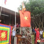 Họ Dương Đình xã Tràng Sơn tổ chức lễ thượng cờ