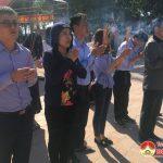 Đô Lương: Mỗi ngày có hàng ngàn lượt người về thắp hương tại Đền Quả Sơn
