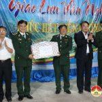 Lãnh Đạo huyện Đô Lương thăm tặng quà đồn biên phòng Mường Ải