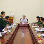 Hội đồng nghĩa vụ quân sự huyện tổ chức hội nghị triển khai công tác giao, nhận quân năm 2019