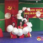 Xóm Thái Sơn, xã Bài Sơn đón nhận làng văn hóa