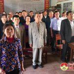 Đô Lương: Tổ chức lễ chào cờ đầu năm mới