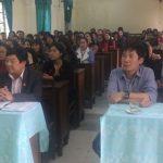 Trường chính trị tỉnh Nghệ An: Khai giảng lớp Trung cấp lí luận chính trị hành chính khóa 17 tại huyện Đô Lương.