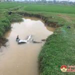 Một nam giới tử vong dưới mương nước nghi tai nạn giao thông