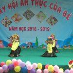 Mầm non Hồng Sơn tổ chức này hội ẩm thực của Bé