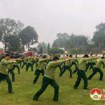 Kho K2 Cục kĩ thuật – Quân khu 4 ra quân huấn luyện năm 2019