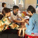 Đô Lương đẩy mạnh chiến dịch tiêm phòng Sởi, Rubella cho trẻ từ 1-5 tuổi