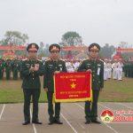 Trung đoàn 1, Sư đoàn 324 đón nhận cờ đơn vị huấn luyện giỏi