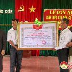 Xóm 4 Đông Sơn đón nhận danh hiệu Văn hóa