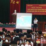 Bộ tư lệnh vùng 1 Hải quân – Huyện ủy Đô Lương: Hội nghị tuyên truyền thu hút nguồn nhân lực xây dựng quân chủng hải quân hiện đại.