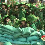 """Trường mầm non Thái Sơn tổ chức sân chơi """" Chiến sỹ tý hon"""""""