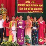 Hội phụ nữ xã Nam Sơn tổ chức kỉ niệm ngày quốc tế phụ nữ và hội thi tuyên truyền viên giỏi.