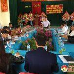 UBND huyện làm việc với xã Ngọc Sơn về kế hoạch phát triển Kinh tế – Xã hôi và xây dựng NTM