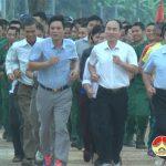 Xã Giang Sơn tây kỷ niệm ngày thành lập đoàn và chạy Olimpic vì sức khỏe năm 2019.