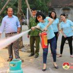 Quỹ TYM tổ chức tập huấn phòng cháy chữa cháy